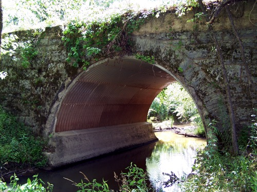 confederate RR bridge at Silver Shoe Ranch